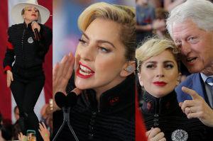 """Lady Gaga też wspiera Hillary Clinton! """"Ta kobieta przywróci pokój w naszym kraju!"""""""