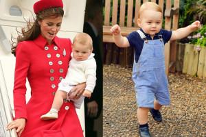 Książę Jerzy spędza 1. urodziny w Szkocji