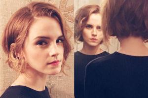 Emma Watson w krótkich włosach! (FOTO)