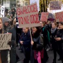 """Tak wyglądał II Ogólnopolski Strajk Kobiet. """"Chcę żyć w wolnym kraju!"""""""