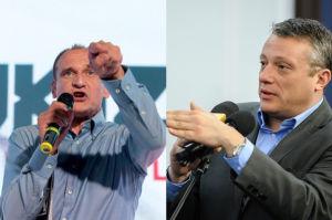 """Kukiz atakuje dziennikarza TVN: """"Gdybym nie był wyrozumiały, to by już nie było pana Knapika!"""""""