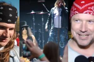 """TYLKO U NAS: Relacja z koncertu Guns N'Roses! """"Nie spodziewałem się takiego supportu jak Doda"""""""