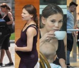Maja Bohosiewicz w zaawansowanej ciąży na zakupach (ZDJĘCIA)