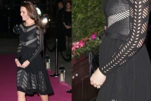 Ciężarna Kate Middleton na balu dobroczynnym! WIDAĆ BRZUSZEK?
