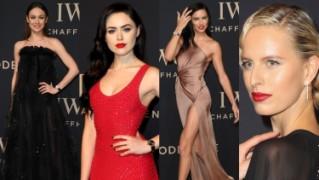 Modelki promują luksusowe zegarki na imprezie w Genewie (ZDJĘCIA)