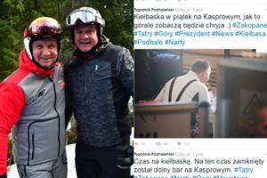 Andrzej Duda zajada kiełbasę w pierwszy piątek Wielkiego Postu? (ZDJĘCIA)