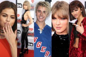Taylor Swift, Selena Gomez i Justin Bieber na iHeartRadio Music Awards! (ZDJĘCIA)