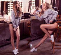 Długie nogi Gigi Hadid w reklamie Reeboka