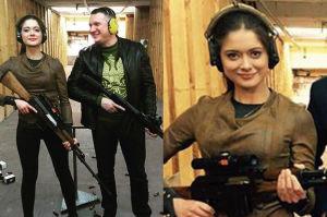 Miriam Shaded na strzelnicy