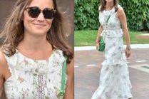 Pippa Middleton w romantycznej sukience za 4 tysiące