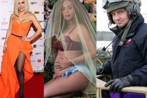 ZDJĘCIA TYGODNIA: Duda w czołgu, Doda w rajstopach i Beyonce w ciąży