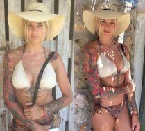 Karolina Gilon w bikini na Ibizie
