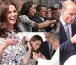 Kate i William w Gdańsku: wódka ze złotem, pierogi, bursztyny i wiwatujące tłumy (ZDJĘCIA)