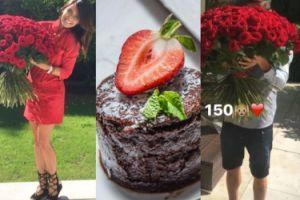 Lewandowska dostała od Roberta na urodziny 150 róż! (FOTO)