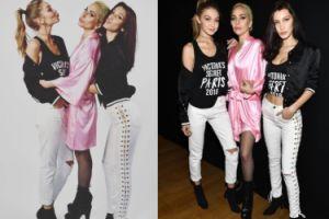 Lady Gaga pozuje z Gigi i Bellą Hadid (FOTO)