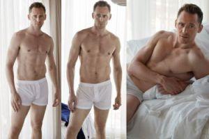 Nowy chłopak Taylor Swift pozuje w białych majtkach... (FOTO)