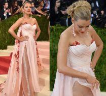 Gala MET 2016: Blake Lively zakrywa ciążowy brzuszek?