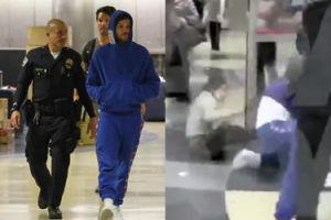 """Fanka aresztowanego Louisa Tomlinsona: """"Przywalił mi! Pójdzie do więzienia!"""" (WIDEO)"""