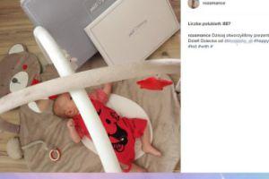Rozalia Mancewicz pokazała syna