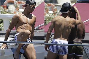Cristiano Ronaldo wypoczywa na jachcie