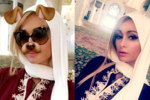 Paris Hilton w meczecie (GALERIA)