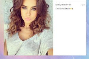 Natalia Siwiec wydyma usta do selfie