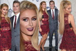 Paris Hilton z nowym chłopakiem debiutują na ściance (ZDJĘCIA)
