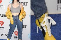 Siostra Miley Cyrus chwali się butami od Rihanny