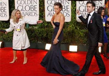 Alicja i Colin na Złotych Globach! (ZDJĘCIA)