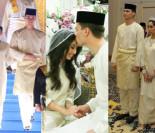 Malezyjska księżniczka wyszła za piłkarza, który wniósł... 19 złotych posagu! (ZDJĘCIA)
