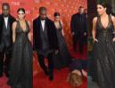 Kim Kardashian bez biustonosza na gali! (ZDJĘCIA)