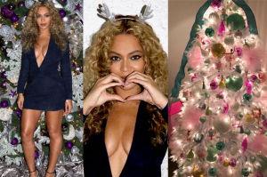 """Tak wyglądają święta u Beyonce! """"Blue Ivy dostała różową choinkę"""" (ZDJĘCIA)"""