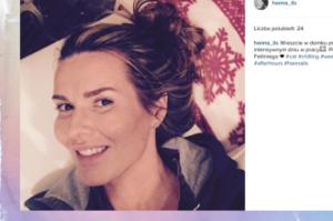 Hanna Lis zaliczyła wpadkę na Instagramie