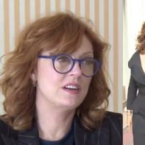 """Susan Sarandon o Cannes: """"Pojawiło się wiele pięknych sukni, w których nie dało się usiąść ani pójść do toalety"""""""