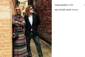 Agnieszka Szulim-Badziak-Starak-Woźniak pozuje z mężem (FOTO)