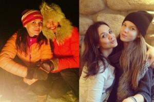 Rusin chwali się górskim Sylwestrem! Odpoczywała z córkami i Kasią Sokołowską