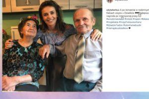 Edyta Herbuś pokazuje dziadków (FOTO)