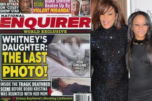 """""""National Enquirer"""" pokazał zdjęcie martwej Bobbi Kristiny!"""
