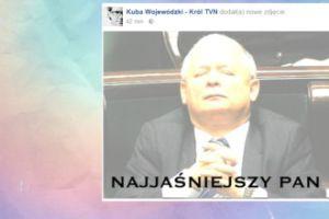 Kuba Wojewódzki wyśmiewa Kaczyńskiego