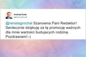 Andrzej Duda komentuje doniesienia o czasach dzieciństwa