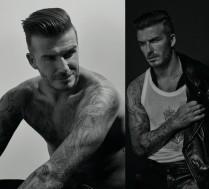 Beckham pokazuje tatuaże w najnowszej sesji!
