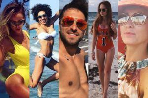 Celebryci chwalą się wakacjami w sieci (ZDJĘCIA)