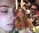Johnny Depp POBIŁ ŻONĘ?! Przyszła do sądu z podbitym okiem...