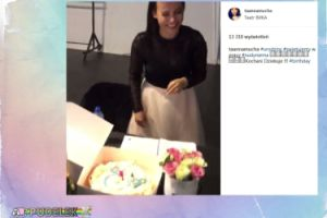 Anna Mucha pokazała swój tort urodzinowy