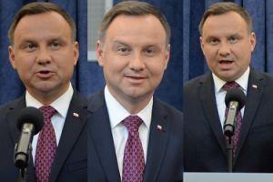 """Uśmiechnięty Andrzej Duda """"buntuje się"""" przeciwko Prezesowi... (ZDJĘCIA)"""