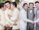 Trzech gejów z Tajlandii... WZIĘŁO ŚLUB! (ZDJĘCIA)