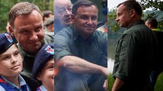 """""""Druh"""" Andrzej Duda """"siedzi & myśli"""" o Polsce na spotkaniu z harcerzami (ZDJĘCIA)"""