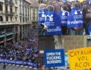 160 tysięcy protestujących w Barcelonie żąda PRZYJĘCIA UCHODŹCÓW!