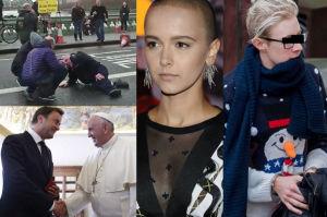 ZDJĘCIA TYGODNIA: zamach terrorystyczny w Londynie, Piotr K. w kajdankach i łysa Brodka