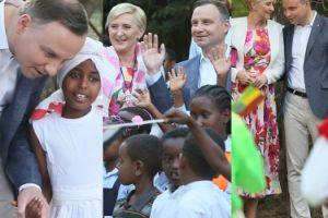 Andrzej Duda z żoną Agatą z wizytą... w Etiopii (ZDJĘCIA)